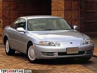1996 Toyota Soarer GT-T 2.5 = 252 kph, 280 bhp, 5.8 sec.