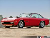 1969 Lamborghini Islero 400 GTS = 264 kph, 350 bhp, 6.2 sec.