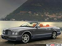 2008 Bentley Azure T = 288 kph, 507 bhp, 5.5 sec.