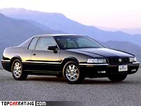 1995 Cadillac Eldorado Touring Coupe = 248 kph, 305 bhp, 7.2 sec.