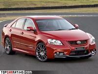 2007 Toyota Aurion TRD 3500S = 250 kph, 328 bhp, 6.1 sec.