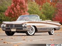1960 Buick Electra 225 Convertible = 190 kph, 330 bhp, 10.7 sec.