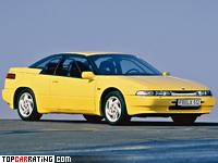 1992 Subaru Alcyone SVX = 240 kph, 240 bhp, 7.7 sec.