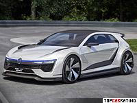 2015 Volkswagen Golf GTE Sport Concept = 280 kph, 401 bhp, 4.3 sec.