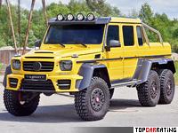2015 Mercedes-Benz G 6x6 Mansory X-treme = 195 kph, 840 bhp, 7 sec.