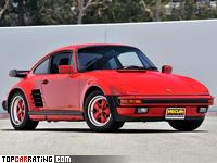 1986 Porsche 911 Turbo Flachbau (930) = 276 kph, 330 bhp, 5 sec.