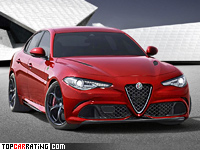 2016 Alfa Romeo Giulia Quadrifoglio = 307 kph, 510 bhp, 3.9 sec.