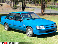 1985 Holden Commodore HDT SS Group A (VK) = 220 kph, 272 bhp, 6.1 sec.