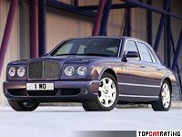 2007 Bentley Arnage T = 288 kph, 500 bhp, 5.5 sec.