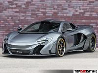 2015 McLaren 650S FAB Design = 342 kph, 700 bhp, 2.8 sec.
