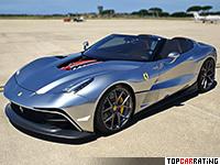 2015 Ferrari F12 TRS = 340 kph, 740 bhp, 3.1 sec.