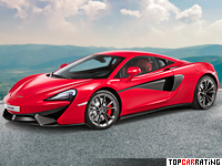 2015 McLaren 540C Coupe = 316 kph, 540 bhp, 3.6 sec.