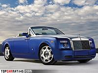 2008 Rolls-Royce Phantom Drophead Coupe = 240 kph, 460 bhp, 5.9 sec.