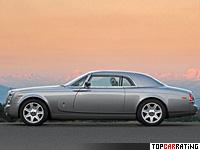 2008 Rolls-Royce Phantom Coupe = 250 kph, 460 bhp, 5.8 sec.