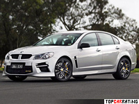 2014 Holden Commodore HSV GTS (VF) = 329 kph, 585 bhp, 4 sec.