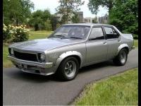 1974 Holden Torana SL/R 5000 L34 Sedan  = 229 kph, 354 bhp, 6.9 sec.