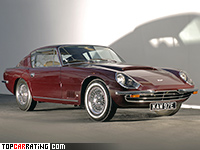 1966 Aston Martin DBSC by Touring = 260 kph, 330 bhp, 6.1 sec.