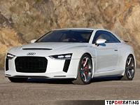 2010 Audi Quattro Concept = 300 kph, 408 bhp, 3.9 sec.