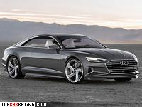 2014 Audi Prologue Concept = 250 kph, 605 bhp, 3.7 sec.