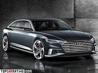 2015 Audi Prologue Avant Concept = 250 kph, 455 bhp, 5.1 sec.
