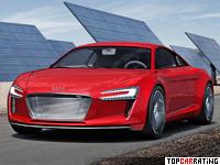 2009 Audi e-Tron Concept = 200 kph, 313 bhp, 4.8 sec.