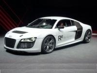2011 Audi R8 e-tron prototype = 200 kph, 313 bhp, 4.8 sec.