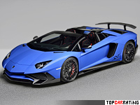 2016 Lamborghini Aventador LP750-4 SV Roadster = 350 kph, 750 bhp, 2.9 sec.