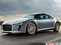 2010 Audi e-Tron Detroit Showcar = 200 kph, 204 bhp, 5.9 sec.