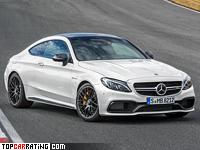 2016 Mercedes-AMG C 63 S Coupe = 290 kph, 510 bhp, 3.9 sec.