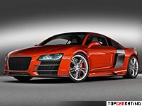2008 Audi R8 TDI Le Mans Concept = 325 kph, 500 bhp, 4.2 sec.