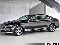 2015 BMW 750Li xDrive (G12) = 250 kph, 450 bhp, 4.5 sec.