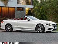2016 Mercedes-AMG S 63 Cabriolet 4Matic  = 250 kph, 585 bhp, 3.9 sec.
