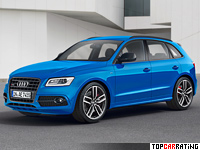 2016 Audi SQ5 TDI Plus = 250 kph, 340 bhp, 5.1 sec.