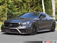 2016 Mercedes-Benz S 63 AMG Coupe Mansory Black Edition = 300 kph, 1000 bhp, 3.2 sec.