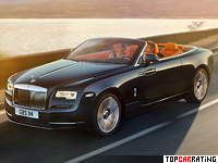 2016 Rolls-Royce Dawn = 250 kph, 570 bhp, 4.9 sec.