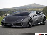 2016 Lamborghini Huracan Mansory Torofeo = 340 kph, 1250 bhp, 2.7 sec.