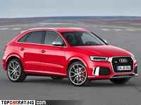 2015 Audi RS Q3 = 250 kph, 340 bhp, 4.8 sec.
