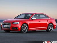 2016 Audi S4 Sedan (B9) = 250 kph, 354 bhp, 4.7 sec.