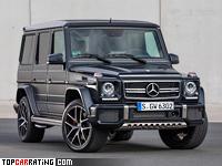 2015 Mercedes-AMG G 63 Edition 463 = 210 kph, 571 bhp, 5.2 sec.