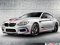 2015 BMW M6 Coupe Competition Edition = 305 kph, 600 bhp, 3.9 sec.