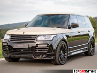 2015 Land Rover Range Rover Autobiography LWB Mansory = 240 kph, 620 bhp, 4.8 sec.