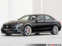 2015 Brabus 600 Mercedes-AMG C 63 S (W205) = 300 kph, 600 bhp, 3.8 sec.