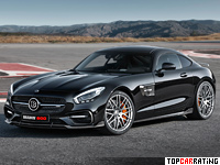 2016 Brabus 600 Mercedes-AMG GT S = 325 kph, 600 bhp, 3.6 sec.