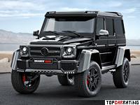 2015 Brabus B40-500 4x4² PowerXtra Mercedes-Benz G = 210 kph, 500 bhp, 6.9 sec.