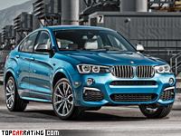 2016 BMW X4 M40i = 250 kph, 360 bhp, 4.9 sec.