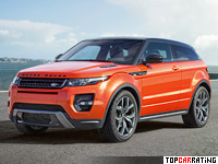 2016 Land Rover Range Rover Evoque Autobiography Dynamic = 230 kph, 285 bhp, 6.8 sec.