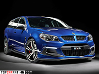 2016 Holden Commodore HSV Clubsport R8 Tourer (VFII) = 305 kph, 544 bhp, 4.4 sec.