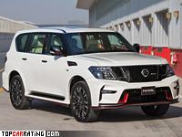 2015 Nissan Patrol Nismo = 220 kph, 428 bhp, 6.1 sec.