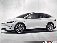 2016 Tesla Model X P90D = 250 kph, 762 bhp, 3.4 sec.