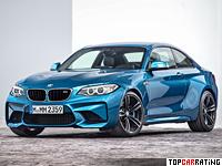 2016 BMW M2 Coupe (F87) = 270 kph, 370 bhp, 4.3 sec.